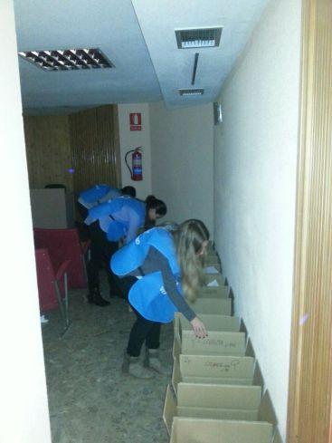Voluntarios Gran Recogida 2014