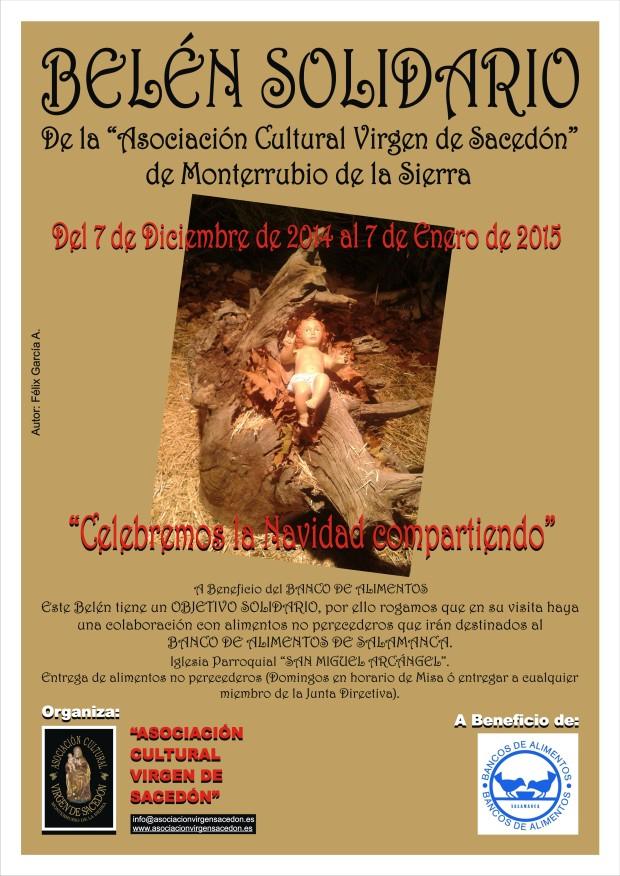 BELEN SOLIDARIO MONTERRUBIO DE LA SIERRA 2014