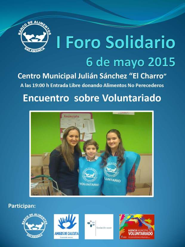 Cartel I Foro Solidario