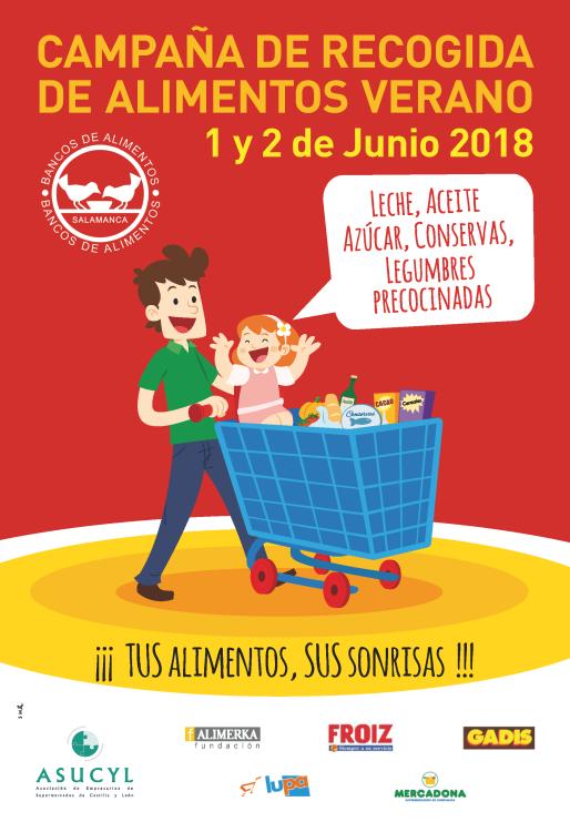 BANCO ALIM. Recogida Junio 2018 Salamanca