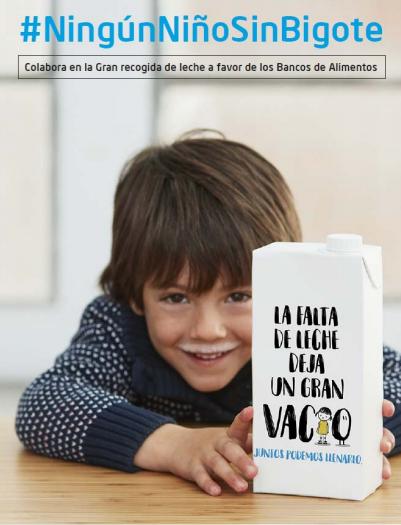 La caixa recogida de leche